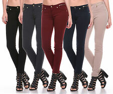 New Colors Sexy Skinny Jeggings - Stretch Moleton Jean Leggings Size XS-2XL