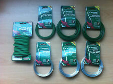 Garden Plant Ties Clips Wire Plastic Galvanised Labels Markers Rings Pegs Twist