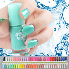 60 Colors Natural Tasteless Non-toxic Water-based Peelable Nail Polish Nail Art