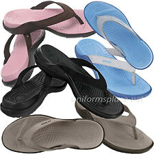 Crocs Flip Flops Womens Capri IV Comfortable Sandals 11211 Color black Pink Blue
