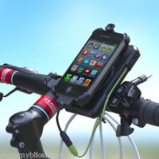 CREE Bike  Mount Universal USB Power Charger GPS Cell Mobile Phones + Holder