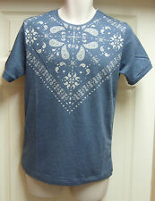 Men's FLY53 Cluny indigo marl short  sleeved  T-shirt