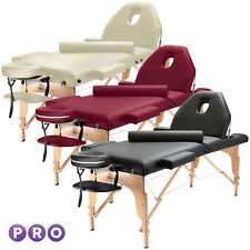 Portable Massage Table with Bolster and Tilt Backrest