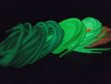 Premium Running Round Rope GLOW IN THE DARK Shoe Laces For Safety Nike Adidas