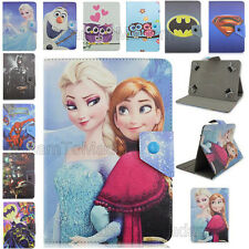 "For 8""-8.5"" Tablet Fold Ultra Thin Hero Cartoon Premium Leather Stand Case Cover"