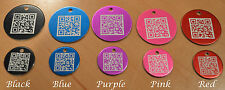 FurCode Smart Pet ID Tag - Dog & Cat QR Code Scan Tags - Free online pet profile