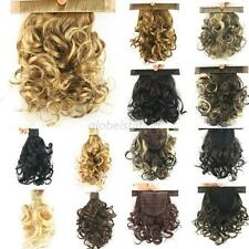 11 Colors Curly Wavy Ponytails Wrap Around Clip in on Hair Extensions Hair Band