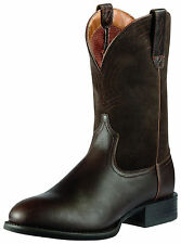 ARIAT - Men's Sport Roper Boots - Brown / Brown Suede - ( 10010957 ) - New
