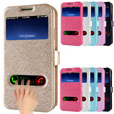 New Design Protective Flip PU Leather Phone Case Cover For Samsung Galaxy S4/5