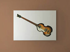 Paul McCartney's 1963 Hofner 500/1 Violin Bass CANVAS PRINT