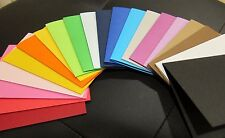 20 Color Assortment Pre-Scored A2 Cardstock 5 1/2 x 4 1/4 for Card Making