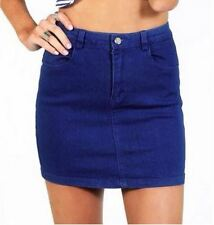 Cute Denim Mini Skirt (109510)