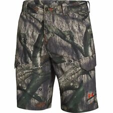 Under Armour Camo Fish Hunter Cargo Shorts (Mossy Oak Treestand) 1257516-905