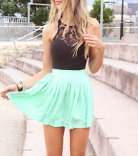 Sexy Fashion Women Sleeveless Lace Cocktail Party Short Summer Beach Mini Dress