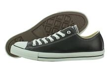 Converse Chuck Taylor All Star Leather OX 107348 Black Casual Shoes (B, M) Women