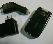 GOOD!!! Sony Ericsson Z750a Z750 Camera Bluetooth GSM Video Flip AT&T Cell Phone