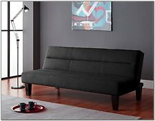 Futon Sofa Microfiber Couch Living Room Furniture Loveseat Modern Bed Chaises