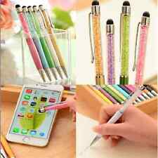 Amazing 2-in-1 Stylish Touch Screen Stylus Write Pen For iPhone iPad Tablet HTC