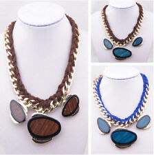 New Arrive Hot Selling Fashion Handmade Gemstone Bib Necklace