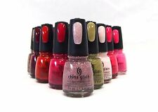 China Glaze Nail Polish Lacquer Assorted Colors From 70286 - 80838  .5oz/15mL