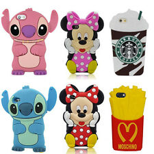 3D Cartoon Superhero Soft Silicone Rubber Case Cover For Apple Samsung LG Sony