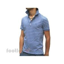 Cerruti 1881 Polo Shirt 8321250 790 Man Stripes Navy Blue Italian Style Moda