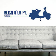THE WHO, LARGE WALL STICKER, Reign O'er Me, Decal, WallArt, SS1645