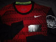 NIKE PRO COMBAT COMBINE DRI-FIT LS COMPRESSION SHIRT MENS M L XL XXL NWT $$$