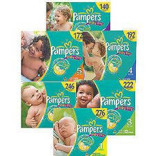 Pampers Baby Dry Diapers Size 1, 2, 3, 4, 5, 6 CHEAP!!!