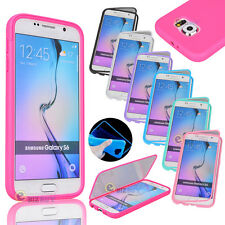Slim Shockproof Hybrid Rubber Hard Protective Cover Case For Samsung Galaxy S6