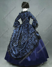 Victorian Dress Princess Ball Gown Theater Quality Adult Women Costume Punk 143