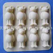 New Arrive Silicone Bear Cake Chocolate Soap Candy Jelly Ice Mold Mould Pan TT