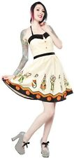 SOURPUSS SIDESHOW LADIES SPOOKSVILLE DRESS Punk Gothic Psychobilly SPDR220