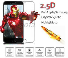 2.5D 9H Hardness Anti-Burst HD Tempered Glass Screen Protector For Cellphones