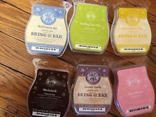 Scentsy Bar Brand New, Current, Retired and HTF Scents. Wax Melts, Candle BBMB