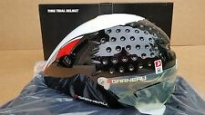 NEW Louis Garneau Vorttice TT/Tri Helmet w/Lens Medium 2 Colors Time Trial