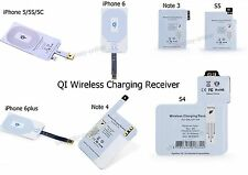 QI Wireless Charger Charging Pad &Receiver For iPhone 6 6 plus Samsung Galaxy S5