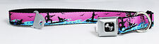 Standup Paddle Board Surf SUP Seat Belt Buckle Dog Collars or Leash 3 Colors NWT
