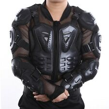 Motorcycle Racing Rider Body Armor Jacket Guard Protection M/L/XL/XXL/XXXL Black
