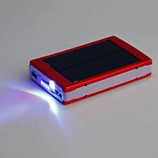 15000mAh Dual USB Solar Panel Power Bank Battery Charger for Phone Durable EB