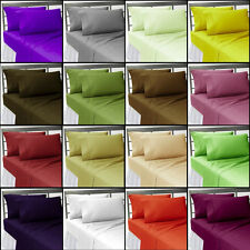 1000 Thread Count 3pc, 5pc Duvet Cover & Set 100%Cotton Solid Twin/Queen/King