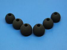 3 pairs Black Replacement Earbud Tips For Monster Beats iBeats Tour Earphones