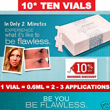 10 VIALS BOX ✪ Jeunesse INSTANTLY AGELESS Anti Ageing Face Cream ✪ Flawless 2min