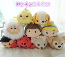 2015 New Tsum Tsum Tiny Doll Screen Wipe Toy Keyring Cleo/Aladdin/Inside Out