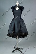 Victorian Cosplay Vintage Corset Dress Gown Steampunk Halloween Costume Punk 288