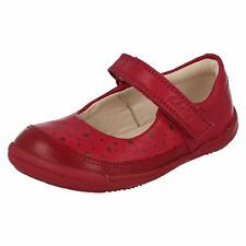 Clarks Softly Ida Girls First Walking Shoes