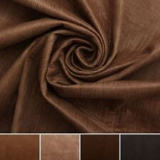 DISCOUNT SOFT TOUCH TEXTURED SUEDE EFFECT UPHOLSTERY CURTAIN CUSHION FABRIC