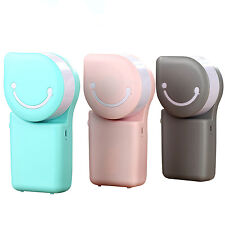 Portable USB Rechargeable Battery Mini Fan Air Conditioner Cooler Home Office