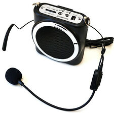 Digital Voice Amplifier Portable PA HeadWorn Microphone Speaker UltraDisk DVA10w