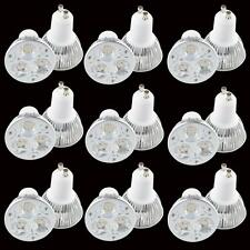 10X 9W GU10 dimmable CREE LED Light  home Bulb Ceiling Lamp 3x3W Warm Cool White